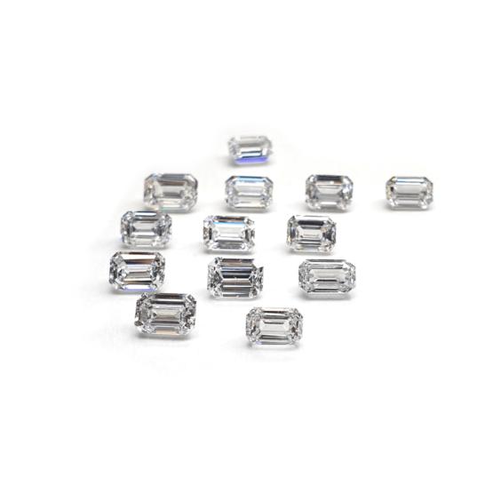 Emerald Shape lab grown diamond