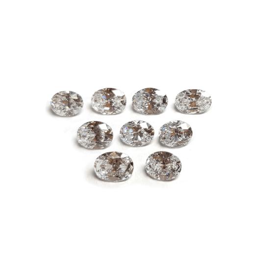 oval shape loose lab grown diamond