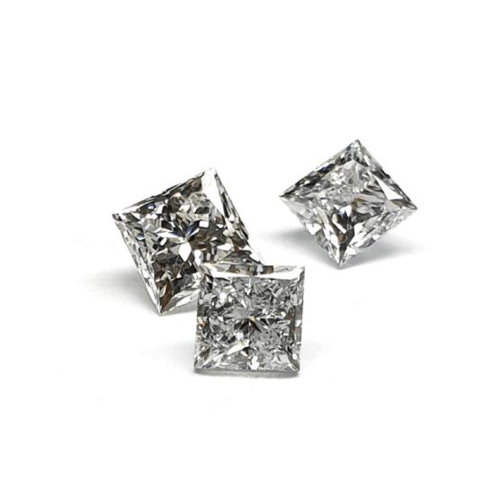 Princess shape Lab Grown Diamond